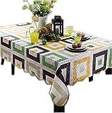 Elegant Classical Rectangular Checkers Tablecloth (152*228cm)