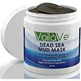 Dead Sea Mud Facial Mask - HUGE 16 oz. - Made with Dead Sea Mud Imported from Israel - Organic Facial Mask Detoxifies, Cleans, Exfoliates, and Moisturizes - Restores Skin's Natural Radiance