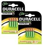Duracell AAA 750mAh Rechargeable Batt...