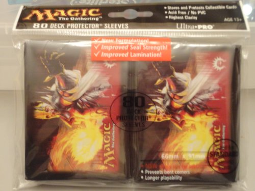 Ultra Pro (80 Count) Gatecrash Boros Legion Sunhome Guildmage Art Deck Protector Sleeves - Magic the Gathering