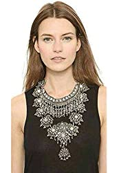Mandy Vintage Design Silver Turkish Necklace, 50+8 cm Extender