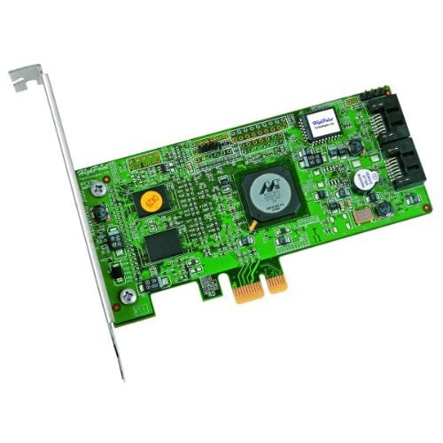 HighPoint-RocketRAID-3120-2-Channel-PCI-Express-x1-SATA-3Gb-s-RAID-Controller