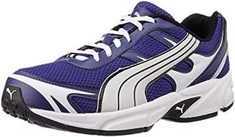 Puma Men's CARLOS Ind.  Blue & White Running Shoes - 8 UK