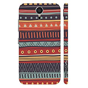 Meizu MX5 Aztec Attack 2 designer mobile hard shell case by Enthopia