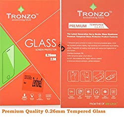 TRONZO premium quality tempered glass screen guard for asus zenfone 2 zenfone2 5.5inch (with dust absorber and cleanser)