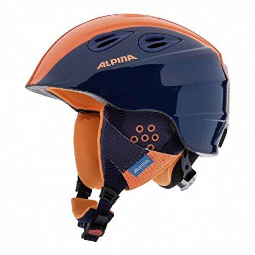 Alpina Unisex - Kinder Skihelm Grap 2.0