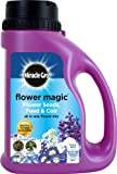 Miracle-Gro 1kg Flower Magic Flower Seeds with Feed and Coir Mix Jug (Blue/ White)