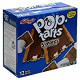 Kellogg's Pop-Tarts S'mores, 12-Count Box (Pack of 6)