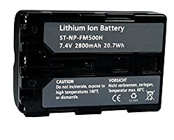 Replacement BatterySony FM-500H for A-100,200,300,500,550,560.700,850,900,SLT A-57,58,65,77,99