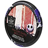 Plasticolor 006718R01 'Nightmare Before Christmas Graveyard' Steering Wheel Cover