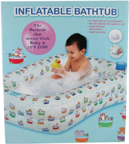 Baby Inflatable Bath Tub front-329521