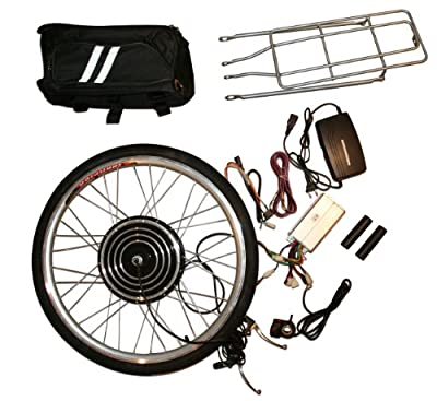 Electric Bike Kit 48V 1000W Front 26 Inch Wheel Hub Motor DIY Conversion (without batteries)