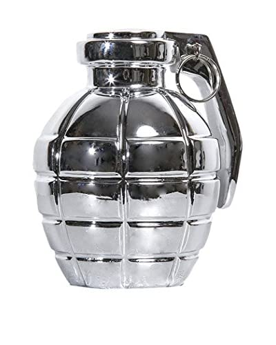 Interior Illusions Grenade Décor, Silver