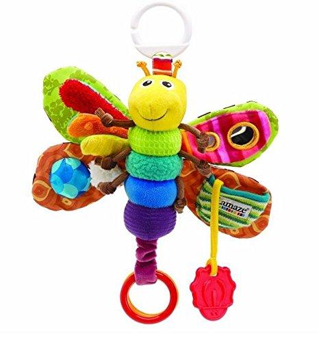 New Baby Lamaze Play & Grow Freddie The Firefly Take Along Developmental Toy ~New~ front-221340