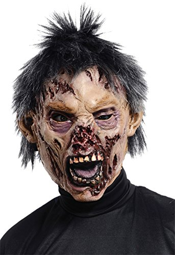 Zombie Rotted Undead Scary Monster Horror Latex Adult Halloween Costume Mask