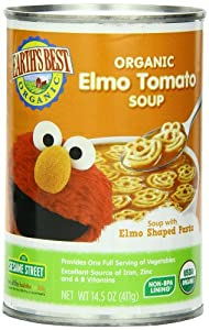 Earth's Best Organic Elmo Tomato Soup, 14.5 Ounce (Pack of 12)