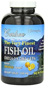 Carlson Labs The Very Finest Norwegian Fish Oil Orange