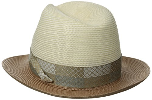 195ab266cffba Stetson Men s Andover Florenine Milan Straw Hat