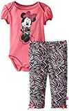 Disney Baby Baby-Girls Newborn Disney's Minnie Mouse Two-Piece Bodysuit And Pant Set