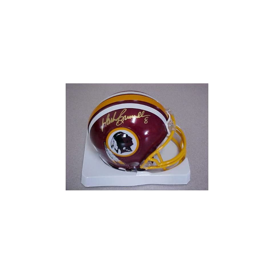 Mark Brunell Hand Signed Autographed Washington Redskins Football Riddell Min