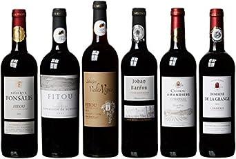 meevio Medaillen-Rotweine aus Frankreich, 6 Flaschen (6 x 0,75 l)