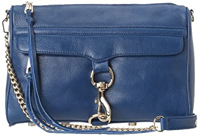 Rebecca Minkoff MAC Convertible Cross-Body Handbag,Navy,One Size