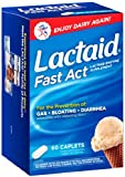 Lactaid Fast Act Lactase Enzyme Supplement, 192 Count ,Lactaid-e4