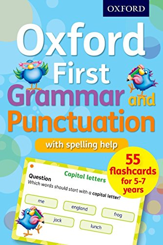 Oxford First Grammar and Punctuation Flashcards