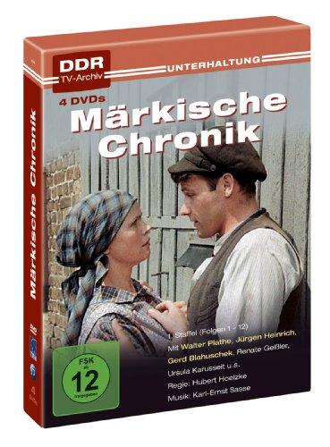Märkische Chronik - DDR TV-Archiv (1. Staffel, 4 DVDs)