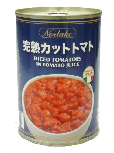 ノルレェイク Italy industrial tomato cans cut 400 g x 24 cans