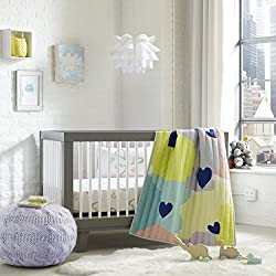 Greenbuds Abstract Affection Crib/Toddler Bedding (Set of 3)