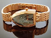 Icetime Ladies Watches Wild 1.00ct Diamond Watch Stainless Steel Rose Gold Case