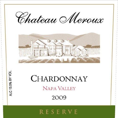 2009 Chateau Meroux Reserve Napa Valley Chardonnay 750 Ml