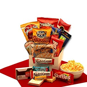 Gifts for College Students Study Snacks College Gift Baskets Associates Care Package