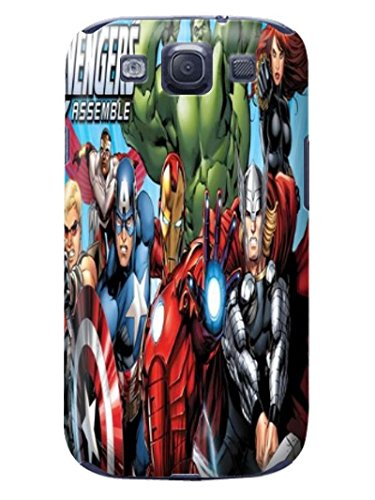 Fashion E-Mall Coolest TPU Logo case Top Samsung Galaxy S3 of Marvel Comics Avengers in Fashion E-Mall Designer Cover
