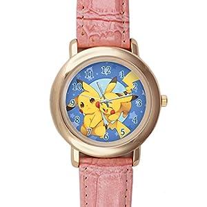 Time Walker Kids Easy to Read CSDR0621667 Pikachu Hug Pokemon Display Analogue Black Dial Bracelet Watch