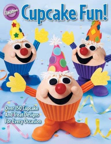 Wilton 902-795 128-Page Soft-Cover Cake-Decorating Book, Cupcake Fun