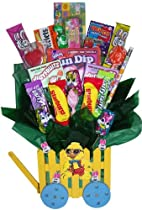 Happy Easter Candy Gift Basket Bouquet