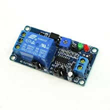 DC 5V Power Supply Optocoupler Isolated NO Trigger Delay Relay Module