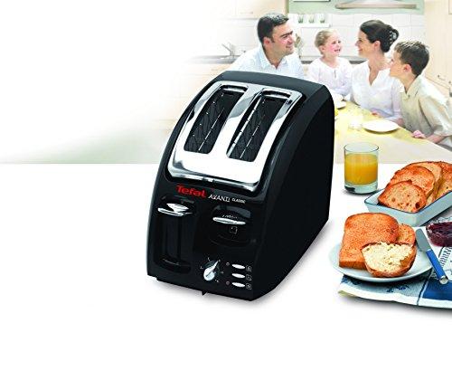 tefal avanti classic 875718 toaster 2 slice black cheap toasters uk. Black Bedroom Furniture Sets. Home Design Ideas