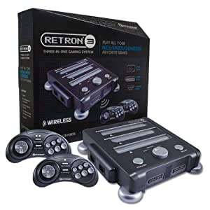 Hyperkin Retron 3 Video Game System for NES/SNES/GENESIS - Gray