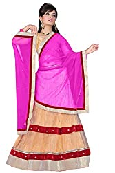 HSFS FESTIVE SELF DESIGN LEHENGA CHOLIS