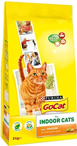 Go-Cat Complete For Indoor Cats With Chicken & Garden Greens (2Kg)