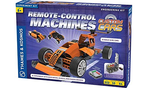 Thames & Kosmos Remote-Control Machines: Custom Cars with Configurable Gear Box (Remote Control Machines Kit compare prices)