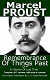img - for Remembrance Of Things Past or In Search Of Lost Time book / textbook / text book