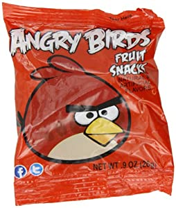 """Angry Birds"" Fruit Snacks Red 9 Ounce Box (10 Pack)"