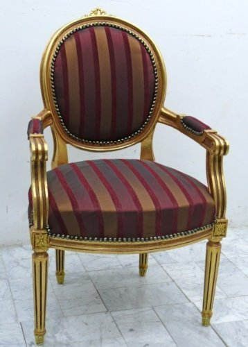 baroque armchair carved rococo MoChB0067GoGs