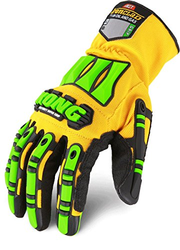Ironclad SDG2-04-L Super Duty 2 Gloves Silicone Fused Palm Oil Gas Drilling Mens Large (Ironclad Super Duty Gloves compare prices)