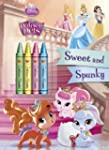 Sweet and Spunky [With Crayons] (Disn...