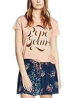 Pepe Jeans London Camiseta Manga Corta Alice (Rosa Claro)